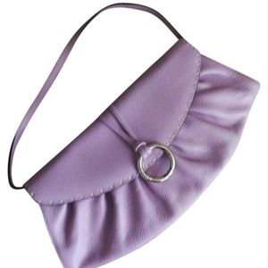 NWT BCBGMAXAZRIA Lilac/Purple Clutch Remvabl Strap